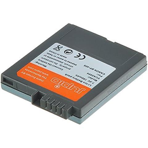Jupio VCA0004 Batteria per Canon BP-406, Nero