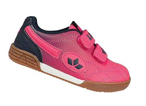 Lico Bernie V, Chaussures de Handball fille Pink (Pink/Marine)