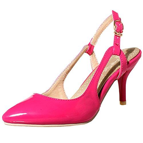 Azbro - Scarpe con cinturino alla caviglia Donna Fucsia