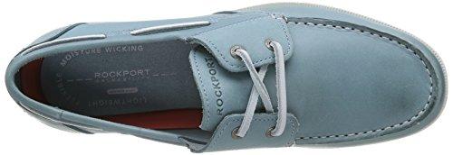 Rockport  2-EYE, chaussures bateau homme Bleu (Lt Blue)