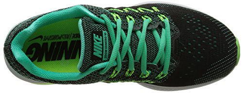 Nike Air Zoom Vomero 10 Damen Laufschuhe Mehrfarbig (Mental/Black/Ghost Green/Voltage Green)