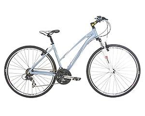 Indigo Women's Verso X1 Hybrid Bike - White, 17.5-Inch