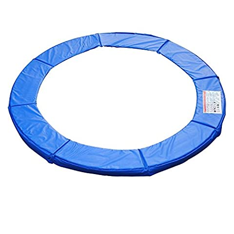 Homcom Randabdeckung Trampolin Durchmesser 366 cm, Blau, 120307-011