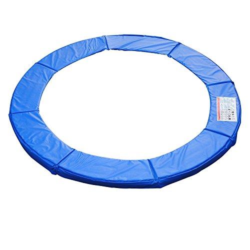 HOMCOM Unisex-Youth Randabdeckung Trampolin Sicherheitsnetz 8 10 12 15 ft Durchmesser 305 cm, Blau, Ø 305cm