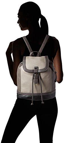 Tom Tailor Acc Damen Juna Rucksackhandtaschen, 29x31x12 cm Grau (grau 70)