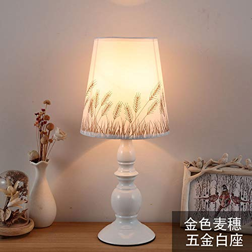 Decoración hogar lámpara mesita noche dormitorio