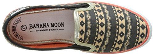 Banana Moon Sandburg, Baskets mode femme Noir (Sho01)