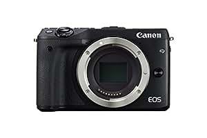 Canon EOS M3 Fotocamera Mirrorless da 24 Megapixel, CMOS, Versione EU, Nero