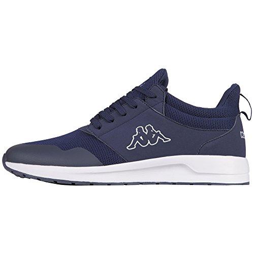 Kappa Unisex-Erwachsene Tray II Sun Sneaker, Blau (6710 Navy/White), 36 EU (2 Sportschuhe Erwachsene)