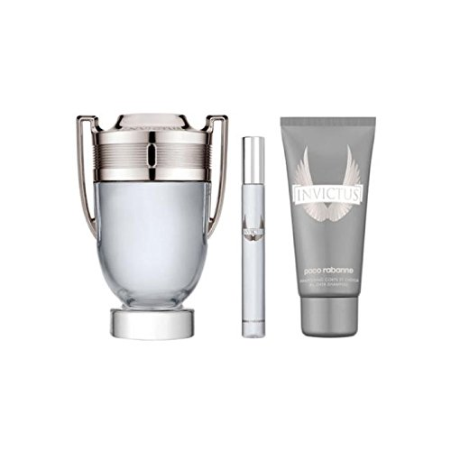 Paco Rabanne Invictus EDT Spray 100 ml + duschget100 ml