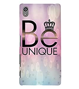 Be Unique 3D Hard Polycarbonate Designer Back Case Cover for Sony Xperia Z5 Premium (5.5 Inches) :: Xperia Z5 Plus