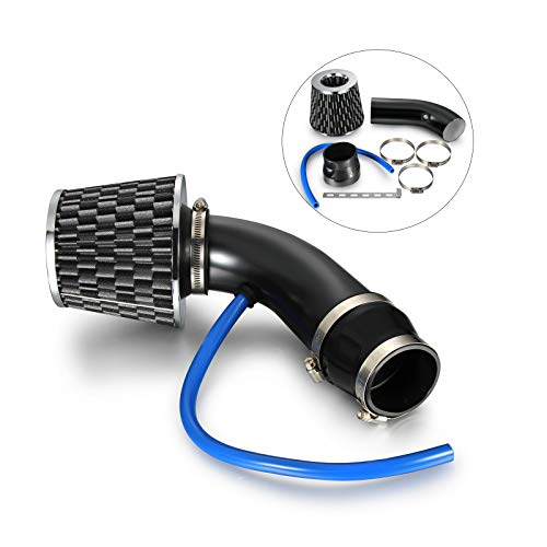 linsertion du clos Syst/ème dadmission dair Tuyau Induction kit de tuyaux 7,6/cm en fibre de carbone filtre /à air froid