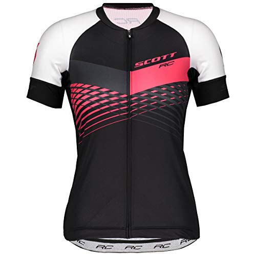 Scott RC Pro Damen Fahrrad Trikot kurz schwarz/pink 2019: Größe: XL (44/46) -