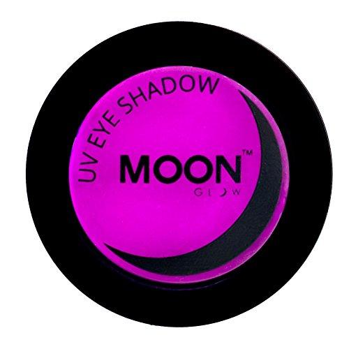 Moon Glow - UV Neon-UV-Lidschatten 3.5g Purpur – ein spektakulär glühender Effekt bei UV- und...