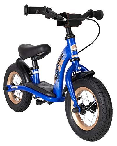 BIKESTAR Kinder Laufrad Lauflernrad Kinderrad f&uumlr Jungen und M&aumldchen ab 2-3 Jahre | 10 Zoll Classic Kinderlaufrad | Blau