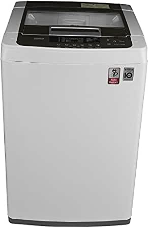 LG 6.2 kg Fully-Automatic Top Loading Washing Machine (T7269NDDLZ, Blue and White)