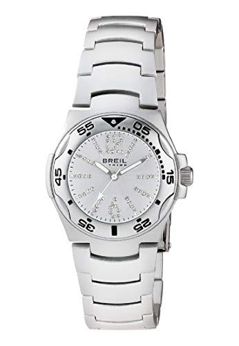 Orologio breil per uomo e donna ice con bracciale in alluminio, movimento solo tempo - 3h quarzo