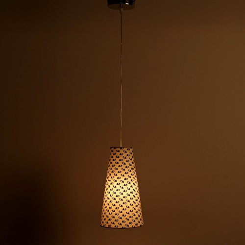 Craftter SMALL BOOTI WHITE Color FABRIC HANGING & CEILING Lamp Fixture