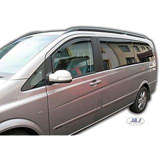 Accessoires auto J&J AUTOMOTIVE Auto et Moto Deflecteurs dair déflecteurs de Vent Compatible avec Mercedes Classe A W169 2004-2012 2 pièces