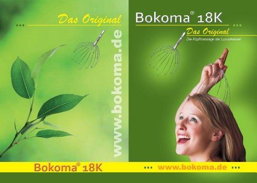 Bokoma 18K – Deluxe Kopfmassagegerät - 2