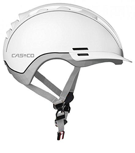 Casco, Erwachsene Fahrradhelm Roadster TC, Weiß, Gr. S-M (55-57 cm)