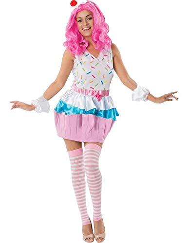 Geburtstag von Erwachsenen Mädchen Cupcake Tanz Karneval Kostüm ()