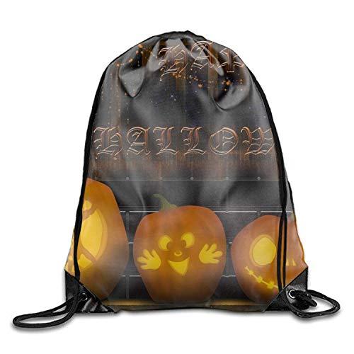 uykjuykj Tunnelzug Rucksäcke, Gym Sack Bag Holiday Halloween Drawstring Backpack Sport Bag for Men Women School Travel Backpack Holiday Halloween6 Lightweight Unique 17x14 IN
