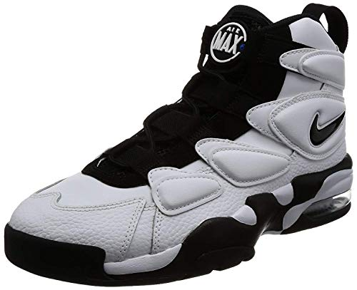 NIKE Air Max2 Uptempo 94 Herren Hi Top Basketball 922934 Sneakers Turnschuhe (UK 14 US 15 EU 49.5, White Black Blue 102)