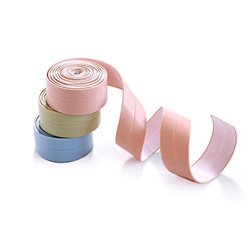 PVC Bad Versiegelungsmittel Tape, weiß Badezimmer und Wand Dichtungsband selbstklebend Klebeband Becken Edge Küche Gap Dichtung Wasserdicht -