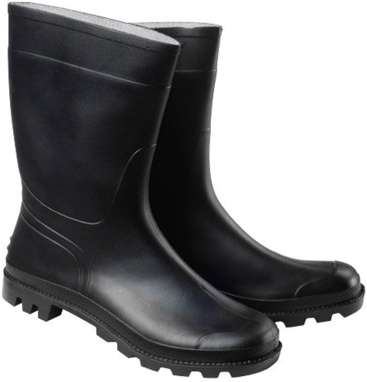 Wolfpack 15010184 - Botas de goma bajas, talla 43, color negro