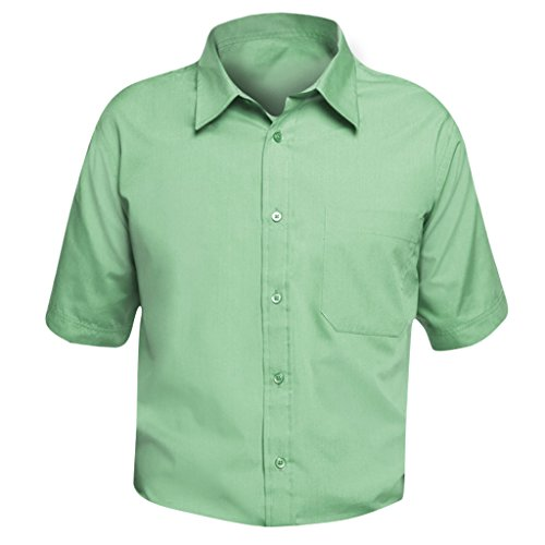 SOLS Herren Bristol Popeline Hemd / Arbeitshemd, Kurzarm (4XL) (Apfelgrün) (Kurzarm-arbeitshemd Popeline)
