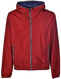 Amazon.it  fay uomo - Rosso   Giacche e cappotti   Uomo  Abbigliamento 5bdcd547c10
