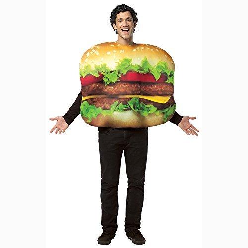 Rasta Imposta 4007084 Adults Get Real Cheeseburger Costume - Cheeseburger - One Size Fits Most by MCS (Erwachsene Cheeseburger Kostüme)