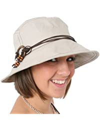 i-Smalls Ladies Beige Shapeable Brim Sun Hat