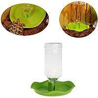 Yanhonin Bol Reptile, Automatique Distributeur d'eau pour Reptile Tortue Alimentation Bol Alimentaire Pet Bowl