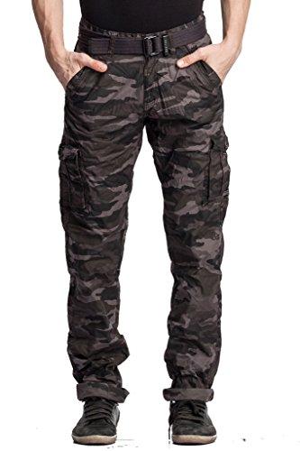 Beevee-Mens-Cotton-Cargo-Pants