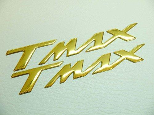 160x22mm ORO T MAX MOTO EMBLEMA INSIGNIA MOTO Depósito De Gasolina Pegatina YAMAHA TMAX pegatinas