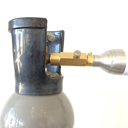 Neues Wasser Group Adapter zum Umfüllen von CO2 Gas aus grossen CO2 Flaschen in die 425g Sodastream CO2 Flaschen Zylinder Sparen Sie bis zu 500€ pro Jahr!