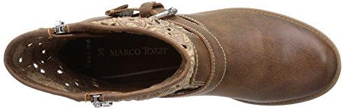 Marco Tozzi 25307 Damen Biker Boots Braun (Muscat Antic / 340)