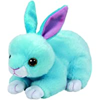 TY 41180–Beanie Babies Jumper–Conejo, 15cm, color azul