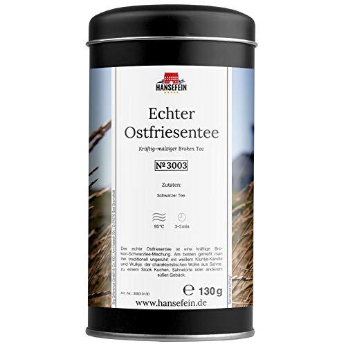 Hansefein Echter Ostfriesentee Schwarzer Tee Broken 130g in Aromadose