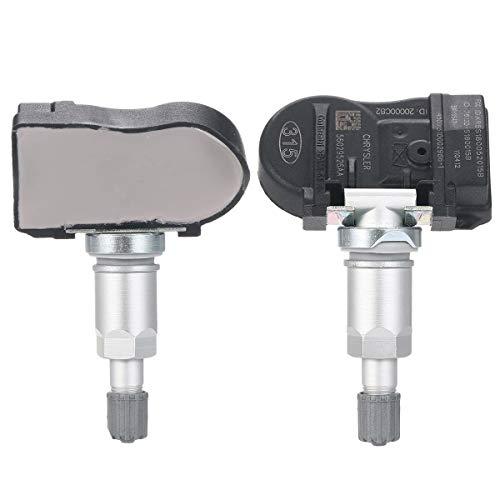 Umiwe 315Mhz Sensore di Pressione Pneumatici, Sistema Controllo Pressione Pneumatici Auto, Tpms per Auto Sistema di Monitoraggio Pressione Pneumatici per Chrysler Jeep Dodge, OE#56029526AA