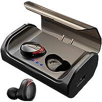 HolyHigh Bluetooth Kopfhörer Kabellos In Ear Sport Joggen Ohrhörer Bluetooth 5.0 mit 3000mAh Batterie 120 Stunden Spielzeit IPX6 Wasserdicht Mikrofon für iOS Android Samsung Huawei HTC