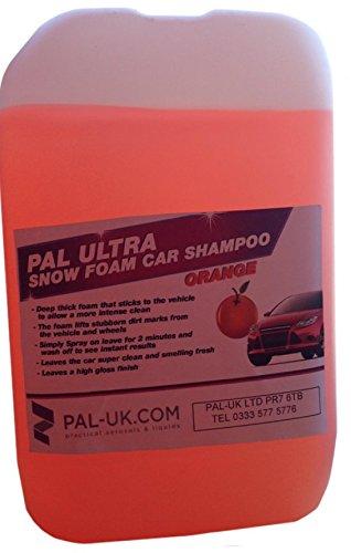 Pal Ultra Hochdruckreiniger Sicher orange Schnee Schaumstoff 25L Auto Shampoo Konzentrat–Intense reinigen