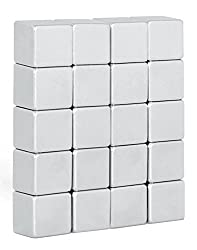 20 Super Starke Neodym Würfel-Magnete (10x10x10mm)/Ideal für Whiteboards und Glasmagnettafeln/By NeoMag (20)