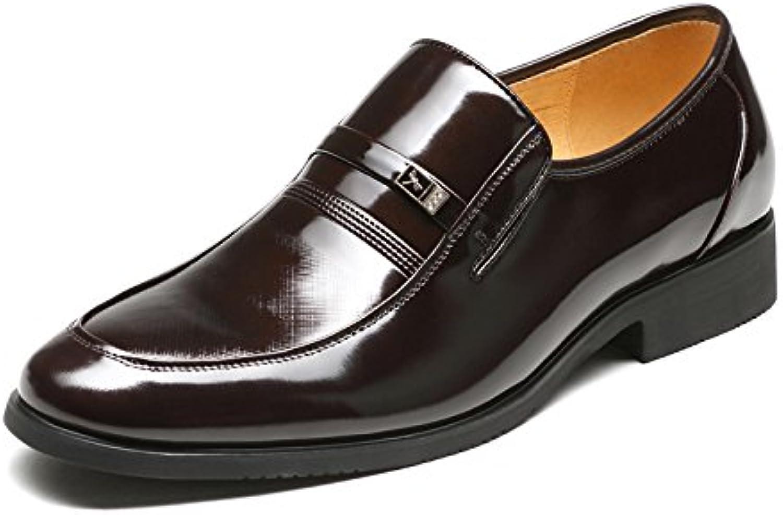 Zapatos de hombre Aemember llevar abrigo para hombres Trajes de Vestir Zapatos ,44, marrón