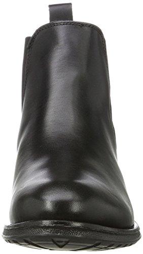 Buffalo London Es 30882 Garda, Stivali Chelsea Donna Nero (Preto 01)