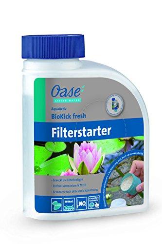 Oase AquaActiv BioKick Fresh 500 ml Wasseraufbereiter Silber