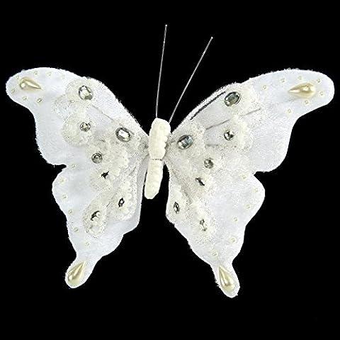 Eurofirany SW/OZD/Motyl/5–1Natale, acrilico, White, 15x 15x
