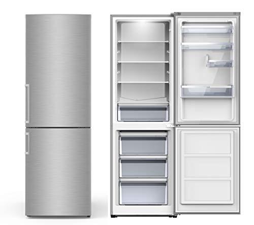 PKM KG 288.4 A++ N Edelstahl Kühlgefrierkombination Kühlschrank groß